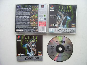 Alien Trilogy  PS1  Game